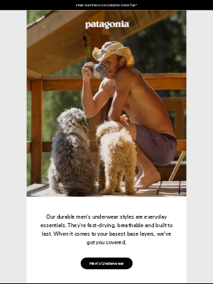 Patagonia Provisions - Underwear for any type of wearing