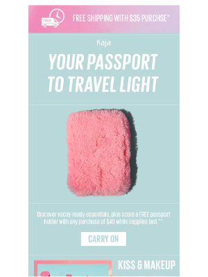FREE gift, will travel—it's National Pink Day!