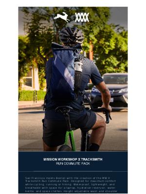 Mission Workshop - [Presale] Run Commute Pack // MISSION WORKSHOP x TRACKSMITH