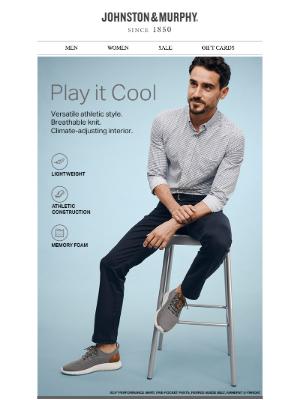 Johnston & Murphy - Play it Cool 😎