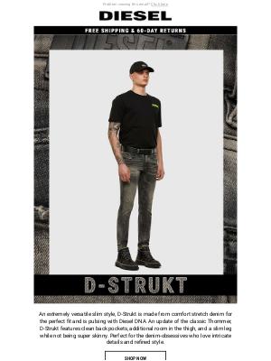 Introducing Our Slim-Leg D-Strukt Denim