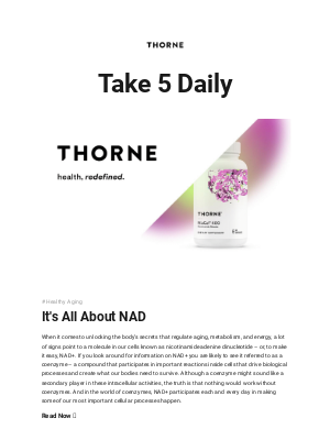Thorne - New T5D: Curious to learn more about NR?
