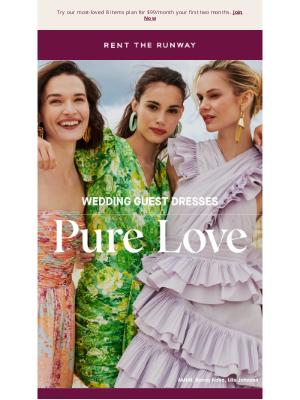 Rent the Runway - Best of: Summer wedding guest dresses 💐