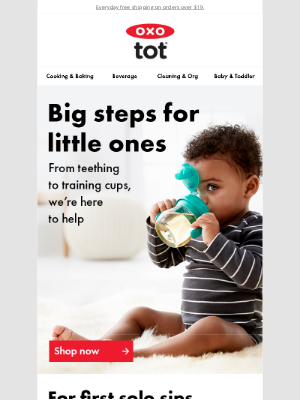 OXO - Be ready for what's next with baby