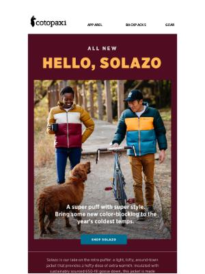 Cotopaxi - Introducing Solazo