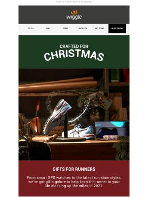 Wiggle (UK) - Christmas gifts for runners