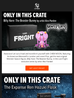 Loot Crate - Love The Expanse? Then you'll love this!