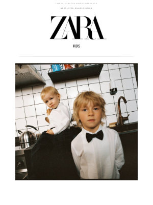 Zara USA - Holiday time | New collection for #zarakids