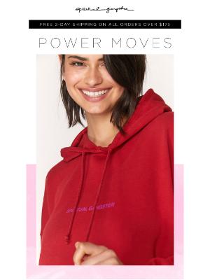 Spiritual Gangster - Power Moves ❤️  NEW Power Colorways