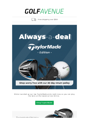 Golf Avenue (CA) - TaylorMade Z Spin 2017 Wedge for Just $67.97 🏌️