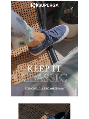 Superga - Wear now, wear later
