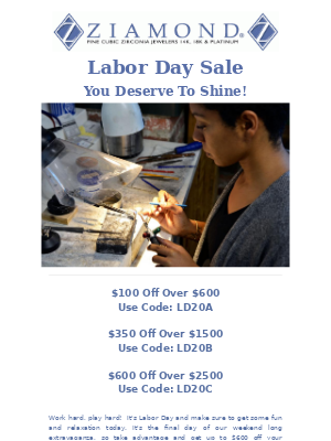 Ziamond - 🇺🇸Labor Day Sale | Ending Today