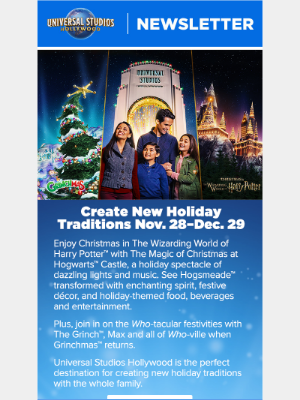 Who-tacular festivities coming this month!🎄