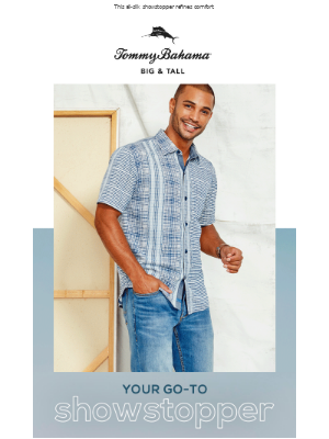 Tommy Bahama - Meet the Shirt that Does it All