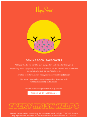 Introducing: Face Covers