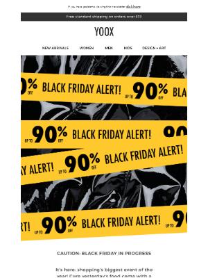 BLACK FRIDAY ALERT! Up to 90% off