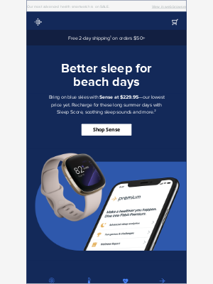 Fitbit - Save $70 on Fitbit Sense ⛱