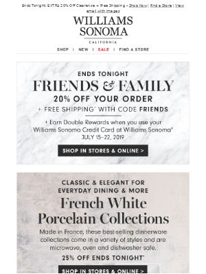 20% Off Your Order + Our Favorite French Pairings