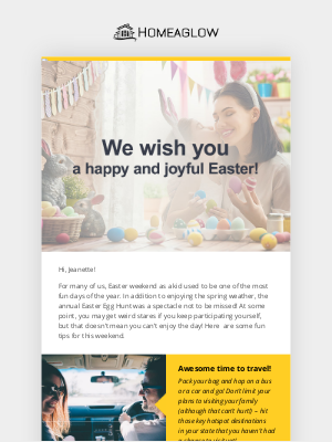 Homejoy - Have fun this Easter like you used to!