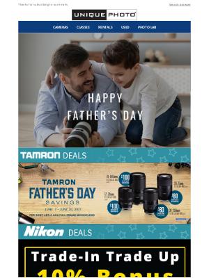 Unique Photo - Father's Day Mega Sale