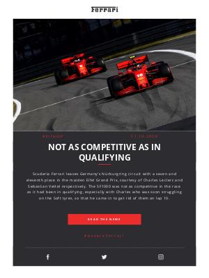 Ferrari - Relive the Eifel GP with Marc Gené