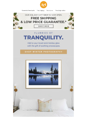 AllPosters - Turn their cheeks pink with the gift of snowy scenery!