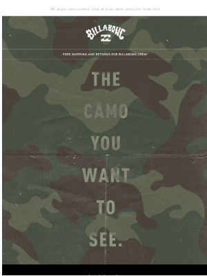 Camo you'll want to see