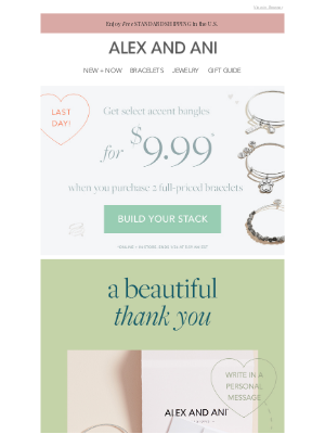 Alex and Ani - Give the Gift of Gratitude 💛