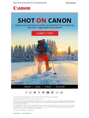 Canon - Show Us Your Best Photo