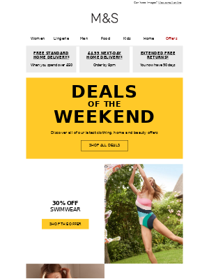 This weekend's best offers