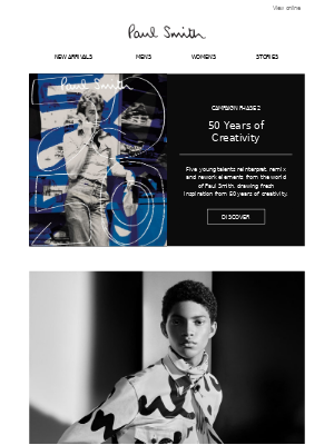 Paul Smith - 50 Years of Creativity - Campaign Phase 2