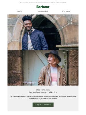Barbour (UK) - Explore the Tartan edit   New styles for the season