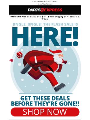 🔔 Jingle, jingle! The savings continue!