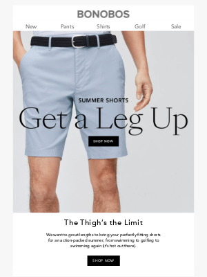 Bonobos - Shorts That Are Too Good to Pass Up