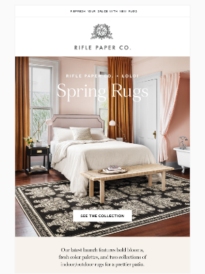 Spring Rugs Are Here
