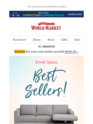 World Market - Big ideas for your small space