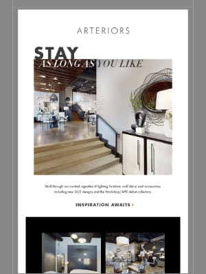 Arteriors Home - Stroll…Our Flagship Dallas Showroom