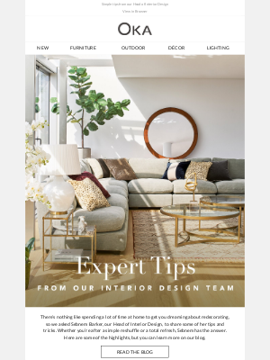 Easy interiors updates from the experts