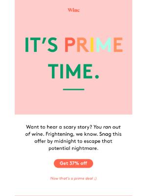 Winc - Prime Day, prime deal ➡️