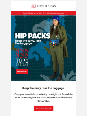 Topo Designs - Hip Packs