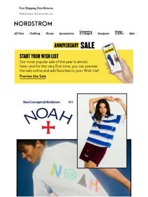 Noah is here: exclusives, collabs and current favorites