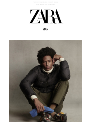Zara USA - Lightweight down puffers #zaraman