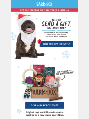 You can still send the perfect gift RIGHT. NOW.