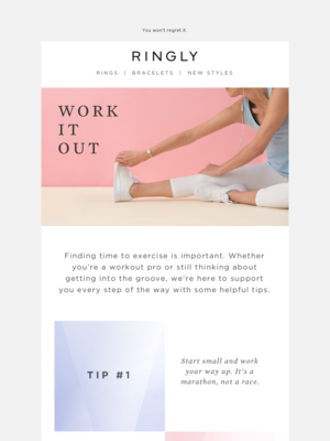 RINGLY - Work It Out With Us