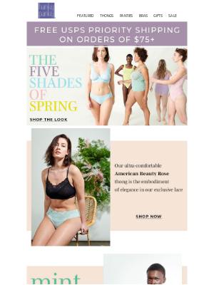 Hanky Panky - Find Your Shade For Spring