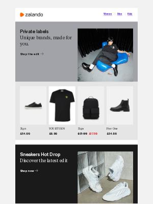 Zalando (UK) - Autumn sneaker drops