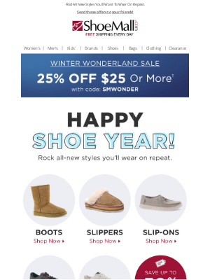 ShoeMall - Happy Shoe Year!
