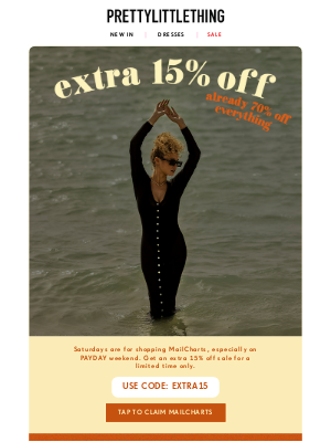 PrettyLittleThing USA - Sunshine and savings ☀️