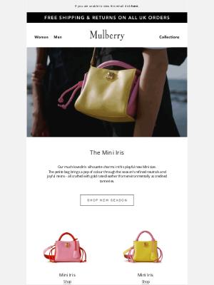 Mulberry (UK) - Introducing: The Mini Iris