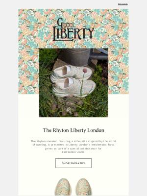 Gucci (UK) - Rhyton Liberty London